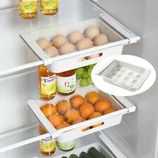 Storage Rack Organizer Kitchen Space Saver Shelf Fridge Holder Box Accessories
