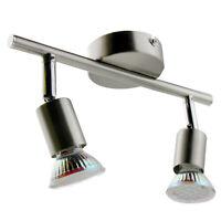 LED Deckenlampe Spot Strahler GU10 Wandlampe Lampe Deckenleuchte 2 flammig TOP