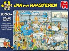 JUMBO PUZZLE TECHNICAL HIGHLIGHTS JAN VAN HAASTEREN 1000 PCS CARTOON #19050