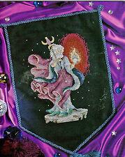 Sprites & Wizards 12 Spell-binding Designs Fairies Cross Stitch Pattern Book NEW