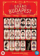 The Grand Budapest Hotel  DVD New & Sealed 5039036065504