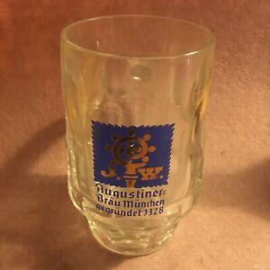 Augustiner Bierkrug 0,5 L Glaskrug