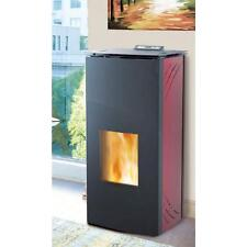 Termostufa a pellet idro ventilata Francesca Kalor 19kw riscaldamento casa 160mq