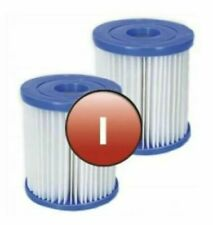 More details for 2 x bestway 58093 pool filter cartridge size i for swimming pool pump type 1