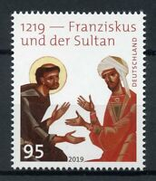 Germany Saints Stamps 2019 MNH St Francis of Assisi Meets Sultan Religion 1v Set