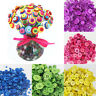 Lots 200pcs Round Resin Buttons 4 Holes For Apparel Sewing Scrapbook DIY Crafts