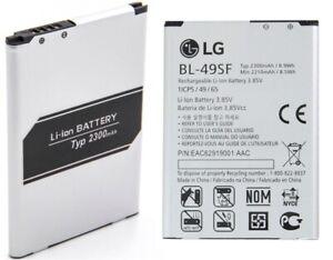 Original LG Battery BL-49SF For LG H736/H736P Phone Battery New