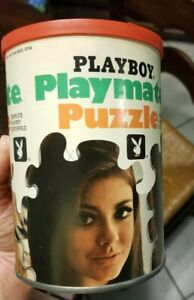 Never opened Vintage Playboy Playmate Jigsaw Puzzle Miss December Cynthia Myers