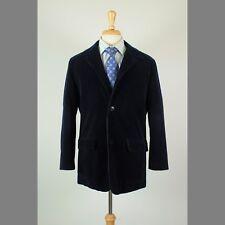 Ermenegildo Zegna M/50 40R Navy Corduroy 3B Mens Sport Coat Blazer Casual Jacket