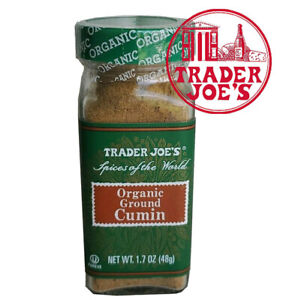 🔥 Trader Joe's Organic Ground Cumin 1.7oz Spices Trader Joe's Spices 🔥