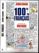 125 DESSINS de WOLINSKI  # 100% FRANCAIS # JEROME DUHAMEL # 1987