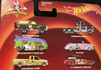 Hot Wheels Looney Tunes Cartoon Cars Vehicles Easy Riders 8cm 2013 New & Sealed