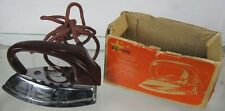 Vintage 1950's Star Lite Automatic Travel or Toy Iron Western Germany Foeller