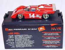 Brumm 1:43 FERRARI 512 M 1971 Racing Car R-231 MIB`90!