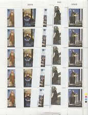 Jordan - 2007 - Traditional clothes - 5 miniature sheets of 5 stamps - MNH