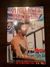 MICHAEL PHELPS signed NO LIMITS 2008 1st Ed Book - soft copy