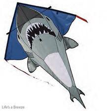 """Shark Kite. 48"""" Shark Kite Children's Kite. Large  Best Flier Easy To Fly Kite"""
