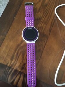 Garmin Forerunner 229 GPS Running Watch & Activity- Purple/white