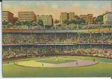 Postcard, Cooperstown Collection, The Polo Grounds, NY, Matching U.S.P.S.Stamp