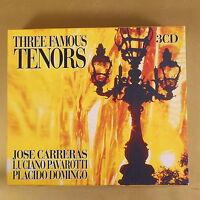 THREE FAMOUS TENORS - 3CD - 2000 BIEM/STEMRA - OTTIMO CD [AS-113]