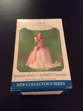 Birthday Wishes Barbie Hallmark Keepsake Ornament 2001 Happy Birthday I#539