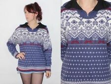 Acrylic Oversized Vintage Jumpers & Cardigans for Women