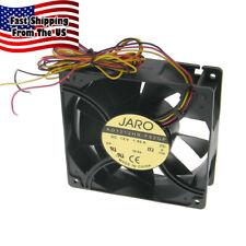 "12Vdc 4.7"" (120mm) x 1-1/2"" (38mm) Jaro Ad1212Hb High Speed Server Fan *35775 Fn"