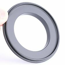 62mm Macro Matel Reverse Adapter Ring for Sony NEX E Mount NEX5 NEX3 NEX7 A6000