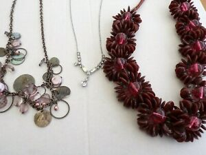 Mixed Costume Jewellery 14 items / harvest /craft /  resell
