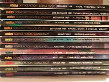 ANALOG SF Magazine 1989 (13 issues) VG to NEW