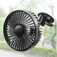 Mini ventilateur oscillant de voiture portable Refroidisseur intérieur d'aspi DE