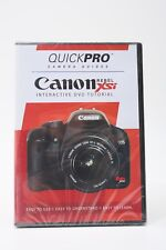 QuickPro Camera Guides Canon Rebel XSi Interactive DVD Tutorial Instruction++NEW