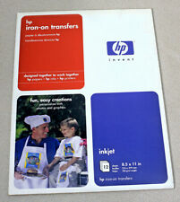 HP Iron-On Transfers for Inkjet – Pack of 12