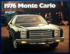 Prospekt brochure 1976 Chevrolet Monte Carlo  (USA)