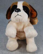 """Russ Berrie 8"""" St. Saint Bernard Beany Bunch Plush Bean Bag Puppy Parade Dog"""