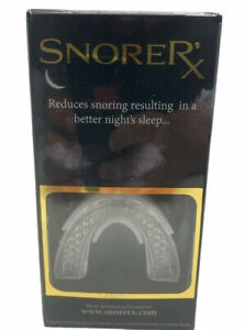 SNORERX - ANTI-SNORE / ANTI-SLEEP APNEA/MICROFIT/POSI-LOCK/MAX-FLOW MOUTHPIECE