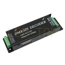 DMX-SPI Decoder Driver DMX512 RGB LED controller For LED Pixel strip light 5-24V