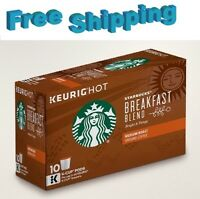 Starbucks Breakfast Blend Medium Roast Coffee Keurig k-cups