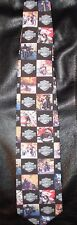 HARLEY DAVIDSON ON THE ROAD RALPH MARLIN NECK TIE 2001 MOTORCYCLE RIDERS, PARTS