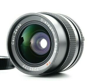 Ex+5 CONTAX Carl Zeiss Distagon 25mm F/2.8 T MMJ Wide Angle Lens From JAPAN