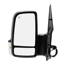 Side Mirror for DODGE FREIGHTLINER MERCEDES SPRINTER Power W/ Signal DRIVER LEFT