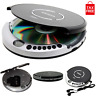CD Disk Player Portable with Bass Boost CD-R/RW Compatible Anti-Skip Protection