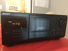 Vintage Sony High Density Model CDP-CX250 200 CD Player Working Perfect