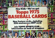 1975 Topps Baseball (#'s 331-660) Complete your Set