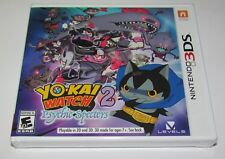 Yo-Kai Watch 2: Psychic Specters for Nintendo 3DS Brand New! Factory Sealed!