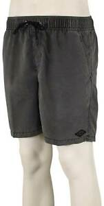 Billabong All Day Overdyed Layback Shorts - Black - New