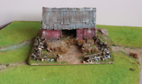 AMERICAN barn  AWI, ACW  28MM SCENERY MADE TO ORDER!