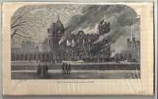 Gleason's Pictorial Drawing-Room Companion. Fire at the Royal Academy. (BI#86)