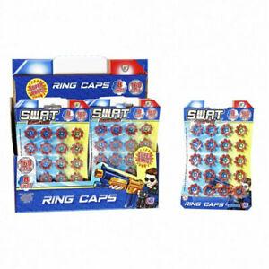 8 Shot Ring Caps - 20 rings = 160 shots for Cap Guns Pistols Rifles