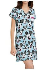 Mickey Mouse Plus Size Sleep Shirt 2X/3X Womens Disney Nightgown Pajamas NWT